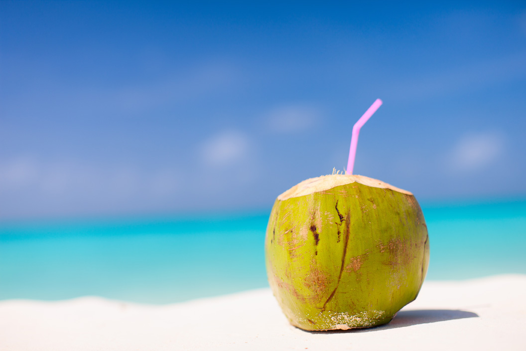 Fresh Young Coconuts Vs Sports Drinks Or Water